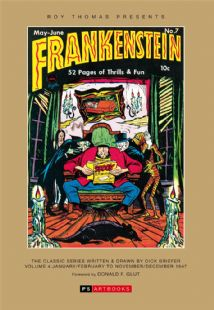 Roy Thomas Presents - Frankenstein  The Classic Series Written & Drawn By Dick Briefer Volume 4